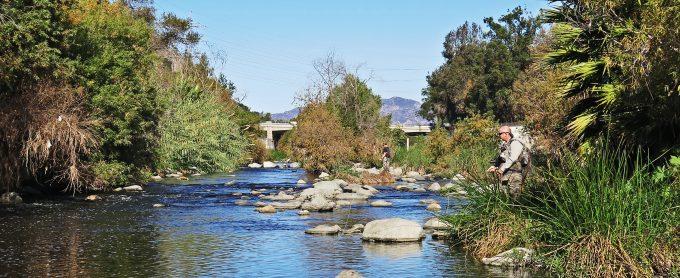 Los Angeles River flyfishing