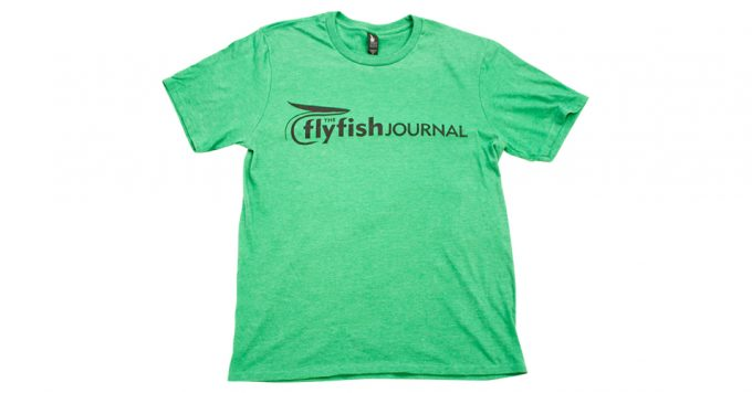 Green TFFJ shirt.