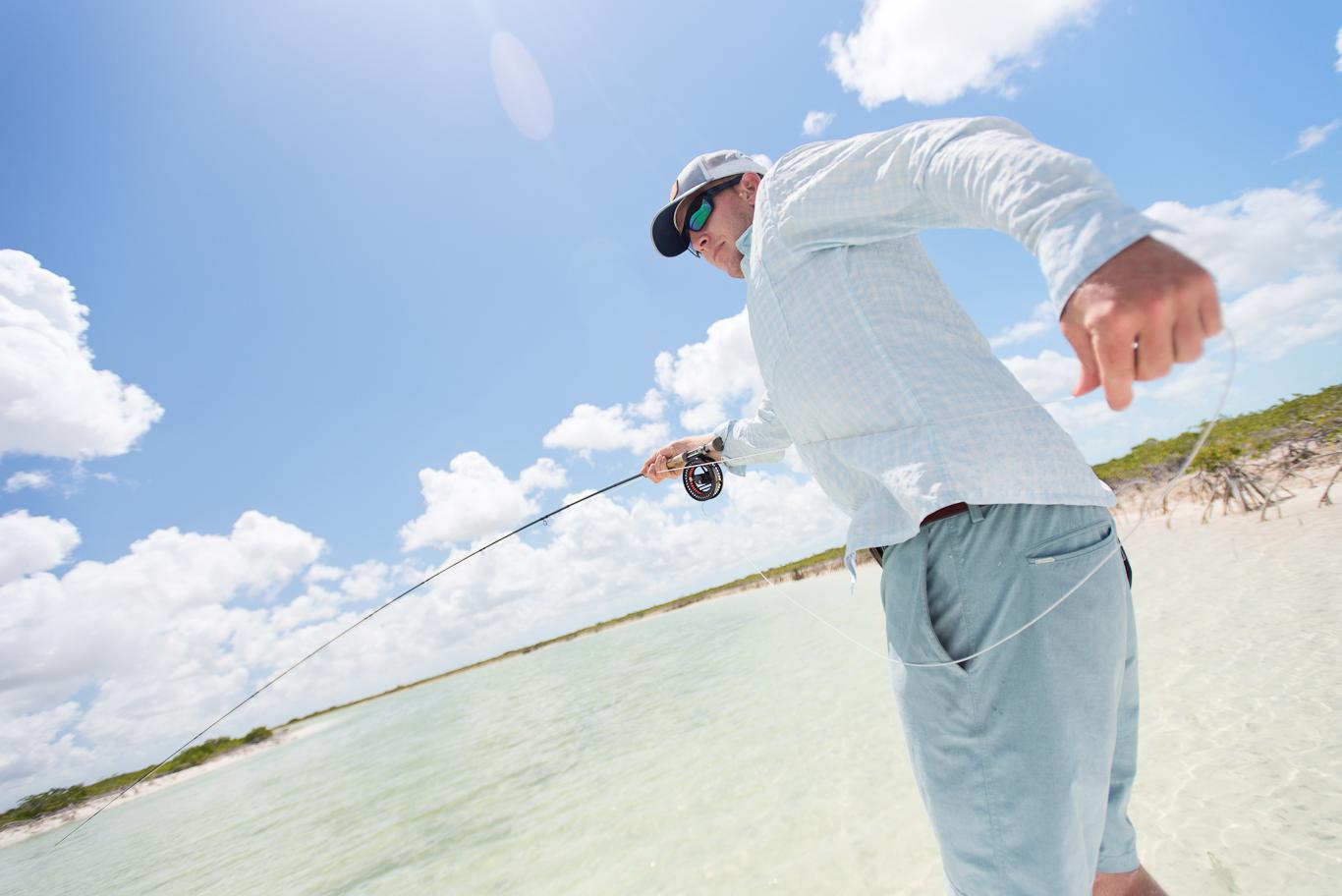 Bahamas, South Andros, Flyfishing, Bonefish